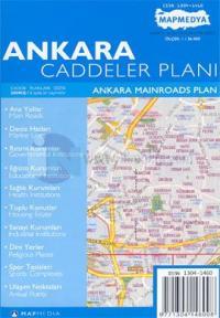 Ankara Caddeler Planı