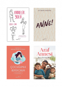 En Yakın Arkadaşınız Anneniz (4 Kitap Takım) Kolektif
