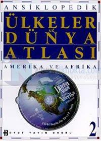 Ansiklopedik Ülkeler ve Dünya Atlası Amerika ve Afrika 2 (Ciltli)