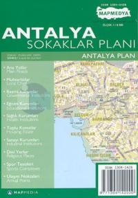 Antalya Sokaklar Planı