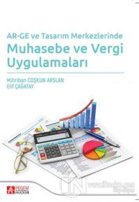 AR-GE ve Tasarım Merkezlerinde Muhasebe ve Vergi Uygulamaları