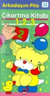 Arkadaşım Pito Çıkartma Kitabı 1 - 2 - 3 (3-5 Yaş)