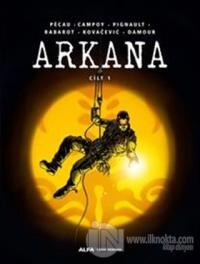 Arkana - Hayalet Baron Cilt 1 (Ciltli)