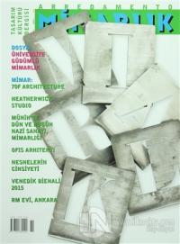 Arredamento Mimarlık Tasarım Kültürü Dergisi Sayı : 295 Kasım 2015