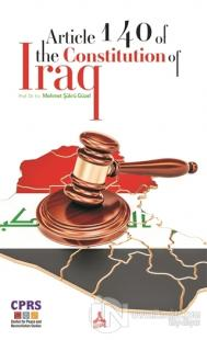 Article 140 Of The Constitution Of Iraq