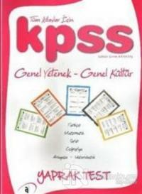 Asil KPSS Genel Yetenek - Genel Kültür Yaprak Test