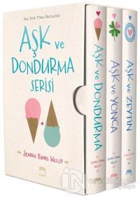 Aşk ve Dondurma Serisi Kutulu Set (3 Kitap Takım) (Ciltli)