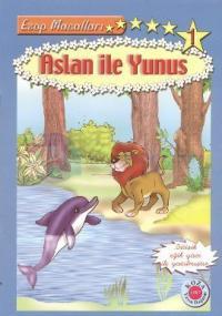 Aslan ile Yunus (Bitişik Eğik Yazılı)