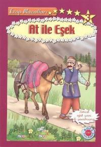 At ile Eşek (Bitişik Eğik Yazılı)