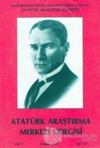 Atatürk Araştırma Merkezi Dergisi Cilt: 5 Temmuz 1989 Sayı: 15