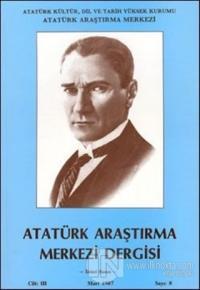 Atatürk Araştırma Merkezi Dergisi, Mart 1987 Sayı 8 Kolektif