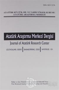 Atatürk Araştırma Merkezi Dergisi Sayı: 101