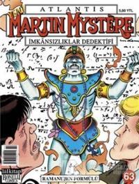 Atlantis Martin Mystere İmkansızlıklar Dedektifi Yeni Seri Sayı: 63 - Ramanujen Formülü