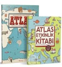 Atlas Set (2 Kitap Takım) Aleksandra Mizielinska