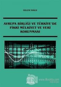 Avrupa Birliği ve Türkiye'de Fikri Mülkiyet ve Veri Korunması