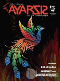 Ayarsız Aylık Fikir Kültür Sanat Dergisi Sayı: 66 Ağustos 2021 Kolekti