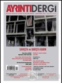 Ayrıntı Dergisi Sayı : 14 Şubat-Mart 2016