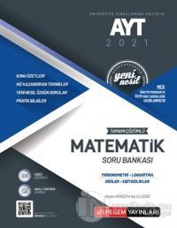 AYT 2021 Tamamı Çözümlü Matematik Soru Bankası Yeni Nesil (Trigonometri-Logaritma-Diziler-Eşitsizlikler)