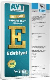 AYT Edebiyat Yaprak Test %25 indirimli Kolektif
