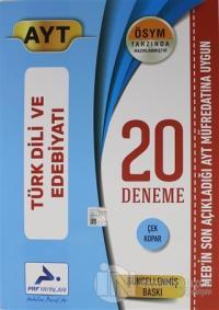 AYT Türk Dili ve Edebiyatı 20 Deneme
