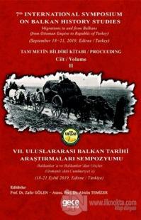 Balkan Tarihi Araştırmaları Cilt: 2