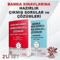 Banka Sınavlarında Çıkmış Sorular ve Çözümleri (2 Kitap Takım) Kolekti