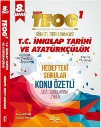 Barış Platin 8.Sınıf TEOG 1 T.C İnkılap Tarihi ve Atatürkçülük Soru Bankası - Konu Özetli
