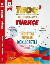 Barış Platin 8.Sınıf TEOG 1 Türkçe Soru Bankası - Konu Özetli