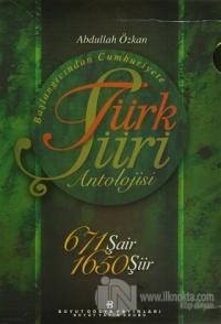 Başlangıcından Cumhuriyete Türk Şiiri Antolojisi  (5 Kitap+1 CD Rom)