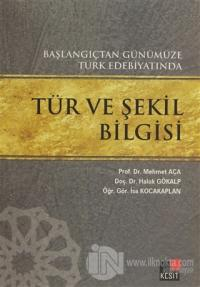Başlangıçtan Günümüze Türk Edebiyatında Tür ve Şekil Bilgisi %15 indir