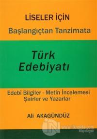 Başlangıçtan Tanzimata Türk Edebiyatı (Ciltli)