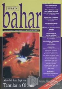 Berfin Bahar Aylık Kültür Sanat ve Edebiyat Dergisi Sayı : 12 Ekim 1996