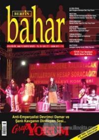 Berfin Bahar Aylık Kültür, Sanat ve Edebiyat Dergisi Sayı : 177 %25 in