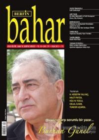 Berfin Bahar Aylık Kültür, Sanat ve Edebiyat Dergisi Sayı : 179 %25 in
