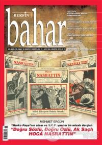 Berfin Bahar Aylık Kültür Sanat ve Edebiyat Dergisi Sayı: 246 Ağustos