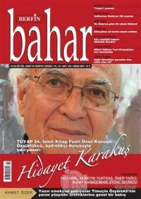 Berfin Bahar Aylık Kültür Sanat ve Edebiyat Dergisi Sayı: 254 Nisan 20