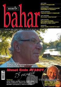 Berfin Bahar Aylık Kültür Sanat ve Edebiyat Dergisi Sayı: 255 Mayıs 20