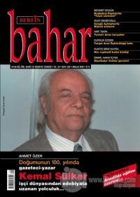 Berfin Bahar Aylık Kültür Sanat ve Edebiyat Dergisi Sayı: 262 Aralık 2019