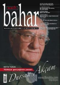 Berfin Bahar Aylık Kültür Sanat ve Edebiyat Dergisi Sayı: 271 Eylül 2020