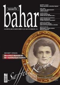 Berfin Bahar Aylık Kültür Sanat ve Edebiyat Dergisi Sayı: 278 Nisan 2021