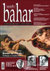 Berfin Bahar Aylık Kültür Sanat ve Edebiyat Dergisi Yıl: 23 Sayı: 241 Mart 2018