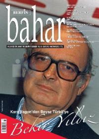 Berfin Bahar Dergisi Sayı: 172 Aylık Kültür, Sanat ve Edebiyat Dergisi