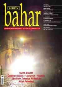 Berfin Bahar Dergisi Sayı: 173 Aylık Kültür, Sanat ve Edebiyat Dergisi