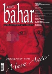Berfin Bahar Dergisi Sayı: 175 Aylık Kültür, Sanat ve Edebiyat Dergisi