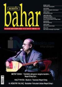 Berfin Bahar Dergisi Sayı: 176 Aylık Kültür, Sanat ve Edebiyat Dergisi