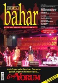 Berfin Bahar Dergisi Sayı: 177 Aylık Kültür, Sanat ve Edebiyat Dergisi