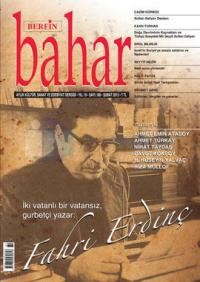 Berfin Bahar Dergisi Sayı: 180 Aylık Kültür Sanat ve Edebiyat Dergisi