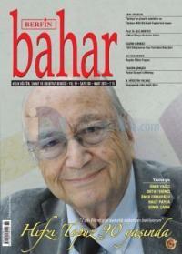 Berfin Bahar Dergisi Sayı: 181 Aylık Kültür Sanat ve Edebiyat Dergisi