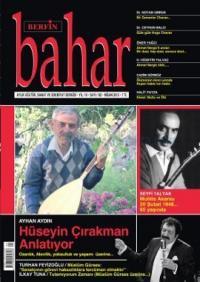 Berfin Bahar Dergisi Sayı: 182 Aylık Kültür Sanat ve Edebiyat Dergisi