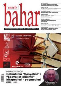 Berfin Bahar Dergisi Sayı: 201